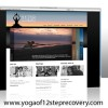 Yoga of 12-Step Recovery Website Design